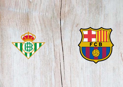 Real Betis vs Barcelona -Highlights 9 February 2020