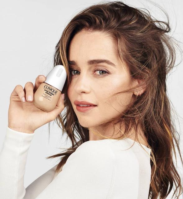 Emilia Clarke – Clinique Even Better Clinical Serum Foundation (2021)