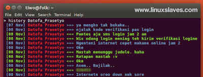 Chat Telegram From Terminal Linux