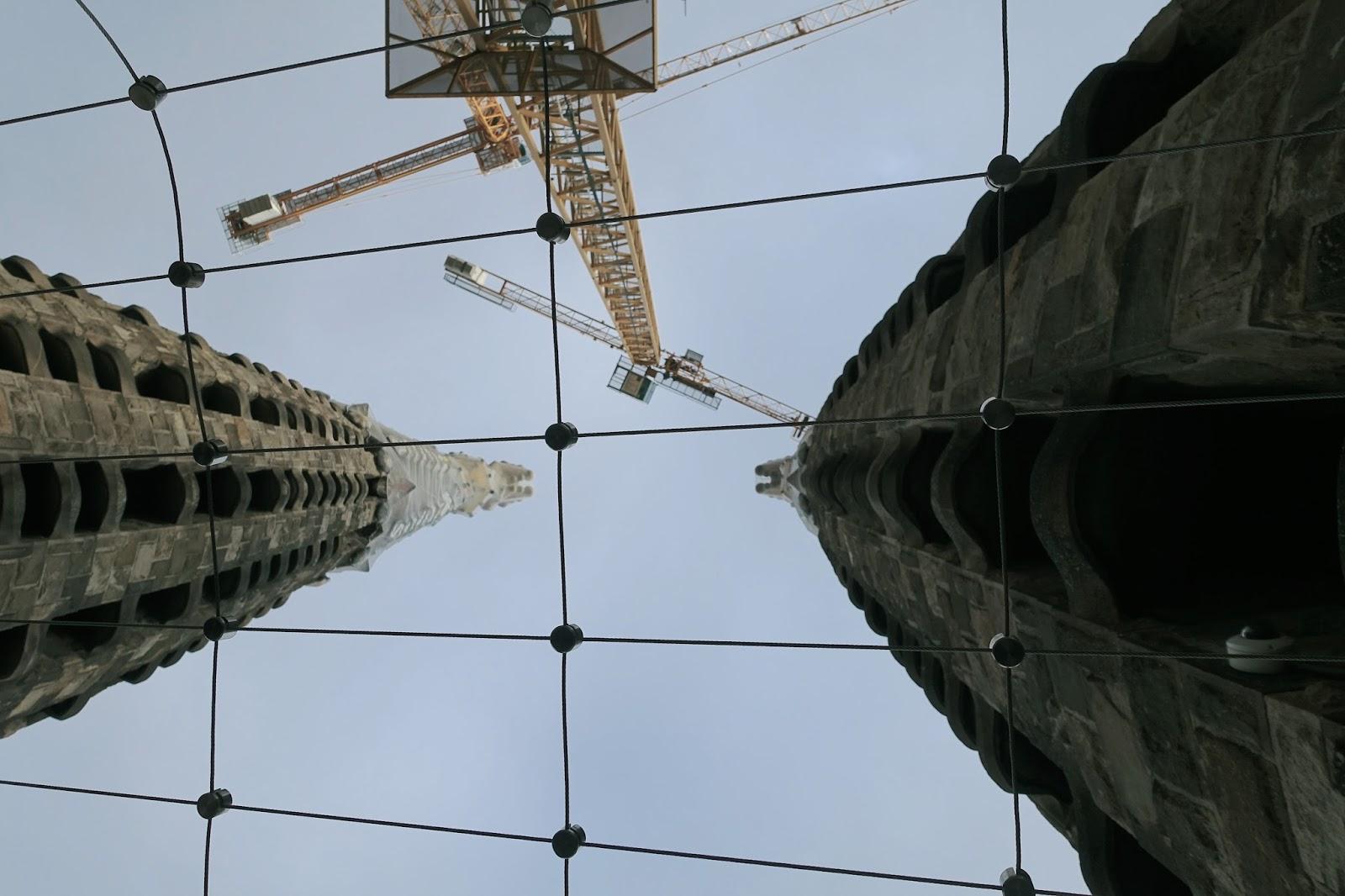 サグラダ・ファミリア (Sagrada Familia) 工事現場2