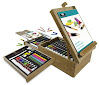 Royal & Langnickel 104-Piece All Media Easel Artist Set