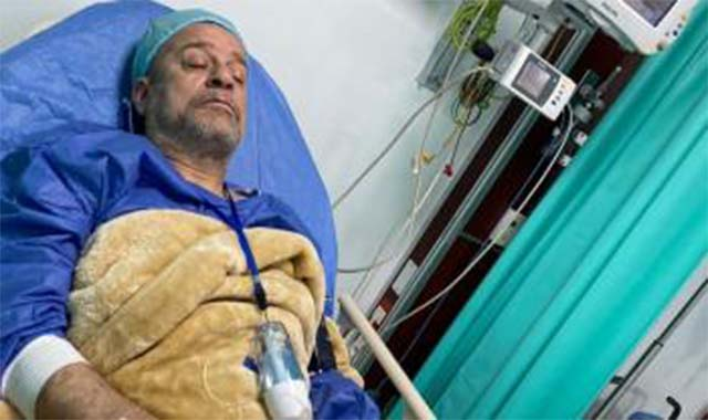 إجراء جراحة عاجلة للفنان شريف منير بعد تدهور حالتة الصحية