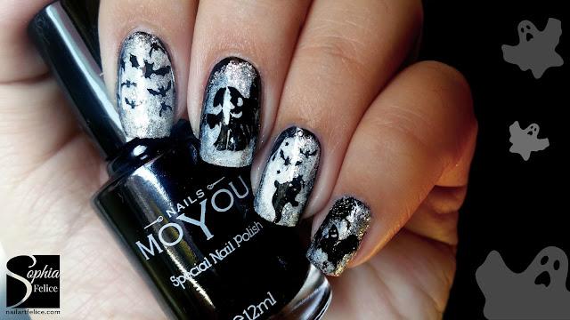nail art halloween chic_01