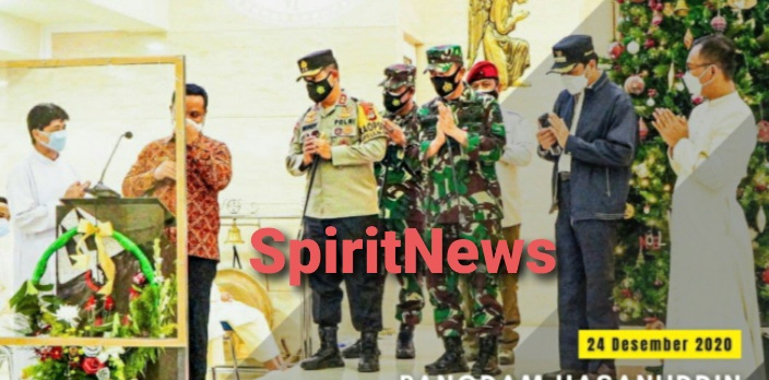 Pangdam Hsn dan Kapolda Sulsel, Kunjungi Tempat Ibadah Untuk Memastikan Keamanannya