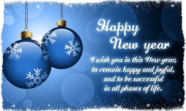 new year image with great wish
