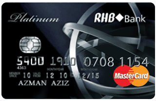 RHB Platinum Credit Card-I Visa