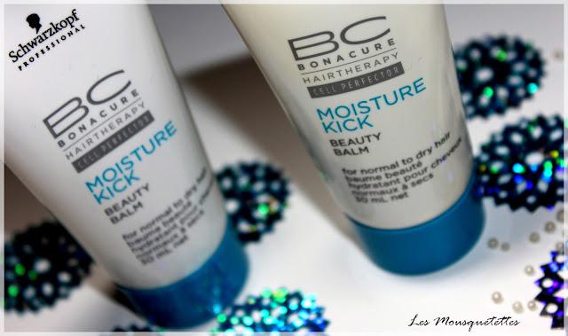 Baume Beauté Hydratant BC Moisture Kick Schwarzkopf  E-coiff - Les Mousquetettes©