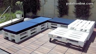 chill out modular con europalets y colchonetas Paletsonline.com