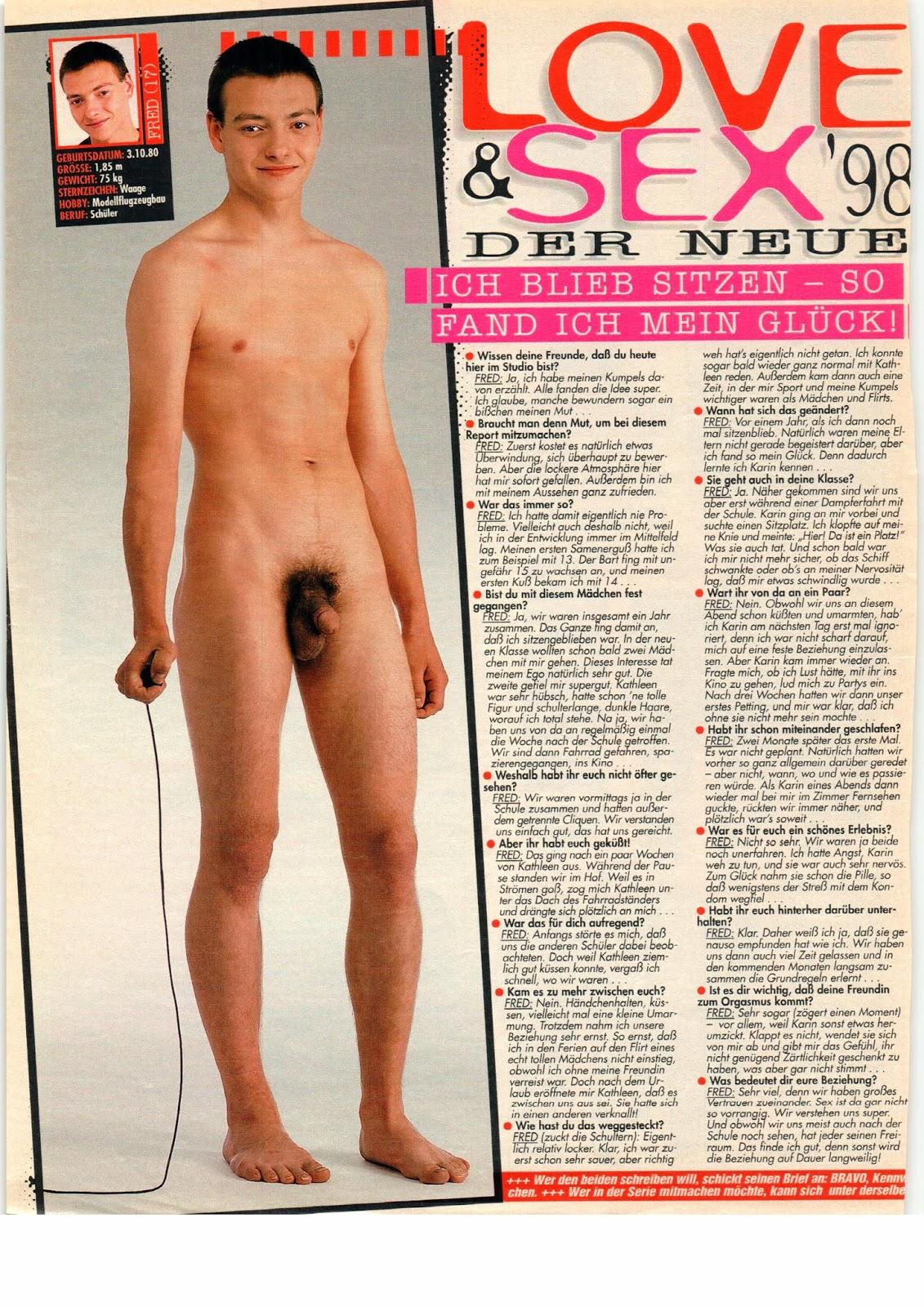 Boy nackt bravo Bodycheck Bravo
