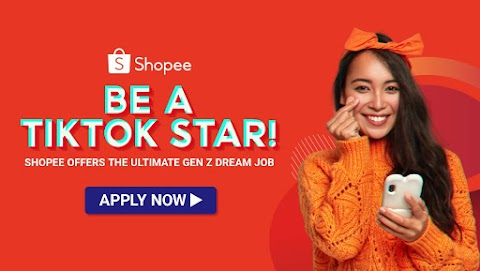 Shopee is looking for a TikTok Star