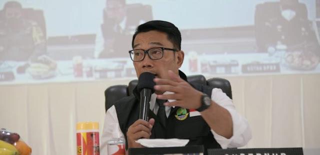 Beredar Jadwal Vaksinasi untuk Umum di Gedung Pakuan Digelar Besok, Ridwan Kamil Pastikan Hoax