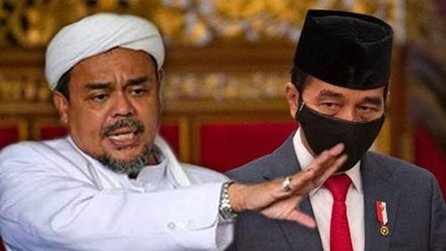 Aktivis: Omongan Habib Rizieq Lebih Dipercaya Rakyat daripada Jokowi