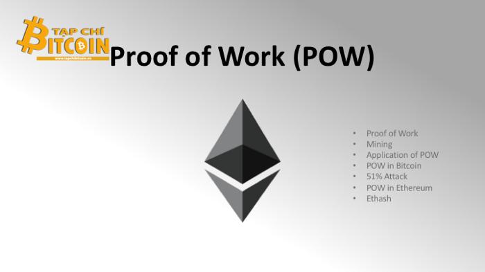 ETH Proof of Work