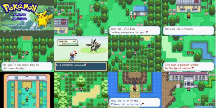 Pokemon Advanced Adventure Screenshots