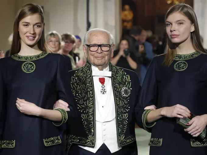 وفاة مصمم الأزياء الفرنسي بيير كاردان
