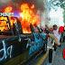 Indignación por caso Giovanni provoca disturbios en Guadalajara