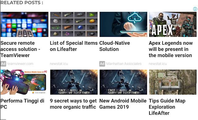 Rahasia Mendapatkan Matched Content Dari Google Adsense dengan mudah