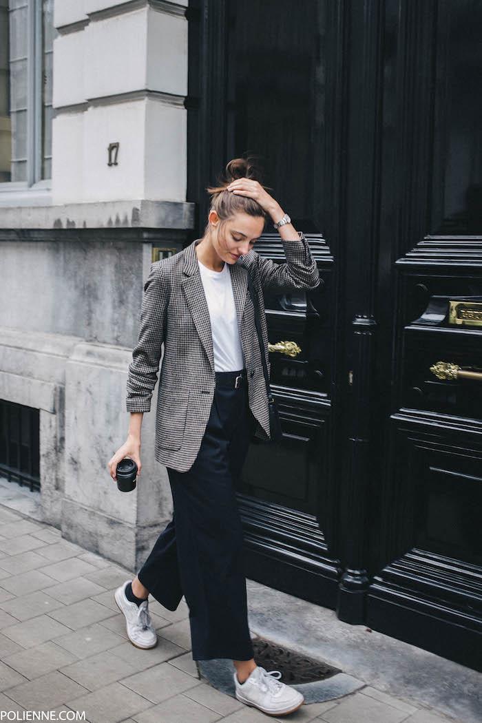 Street Style, Style Inspiration, Blazer, Blazer Style, Blazer with sneakers