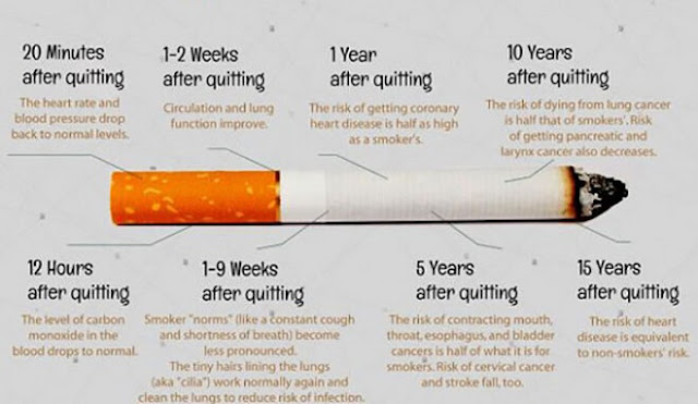 Here Is What Happens With Your Body When You Stop Smoking