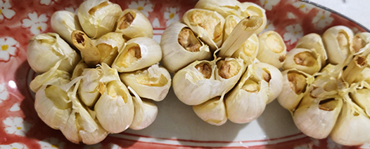 Roasted Garlic, a Healthy Airfryer/Oven dish - Recipe