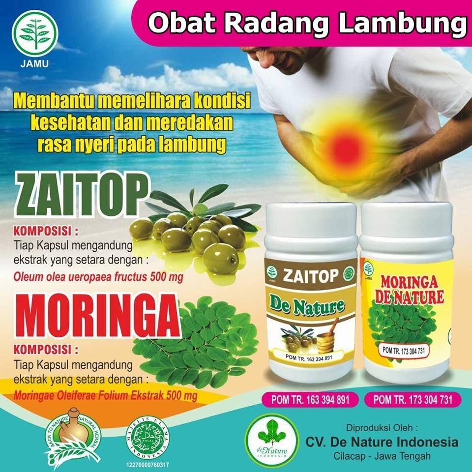 Obat Radang Lambung (Gastritis) Herbal de Nature