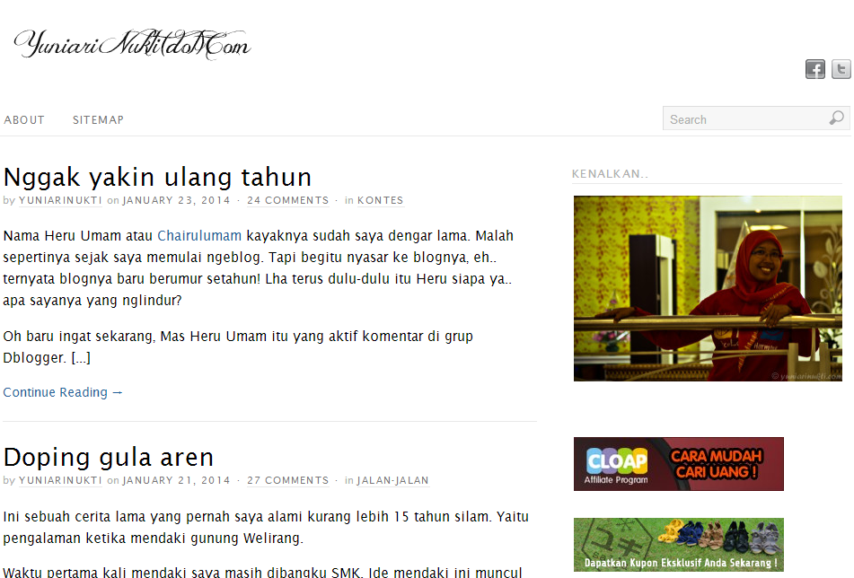 Blog mbak Yuni