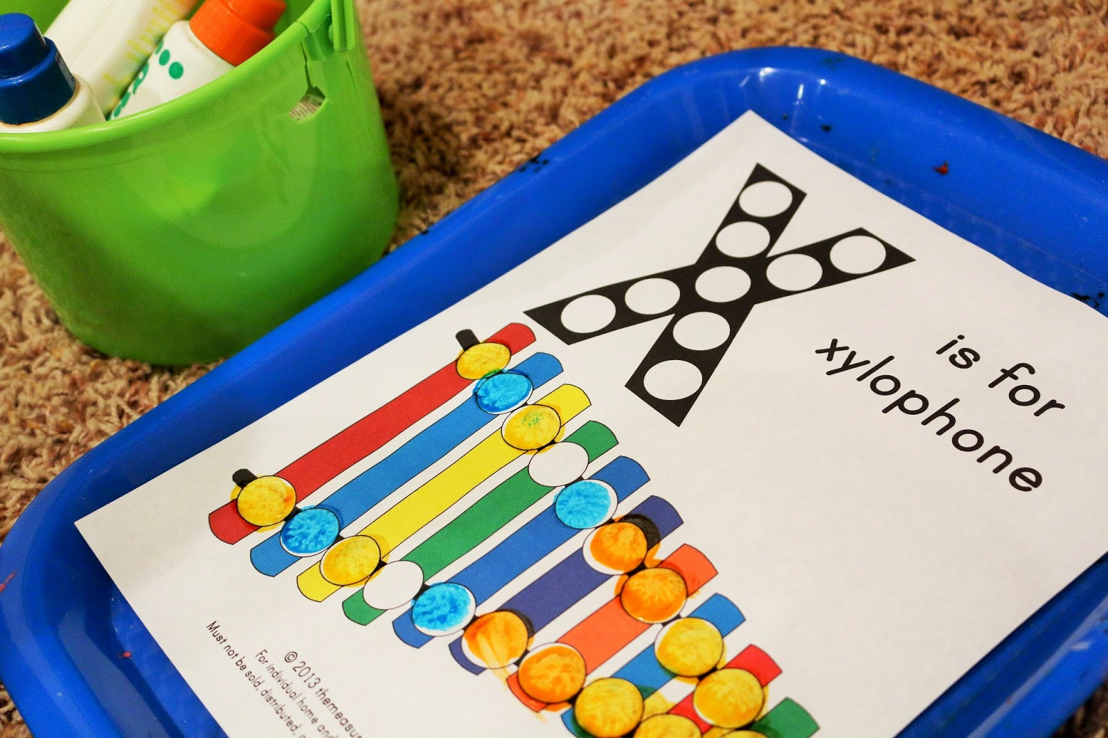 Letter X Toddler Activities
