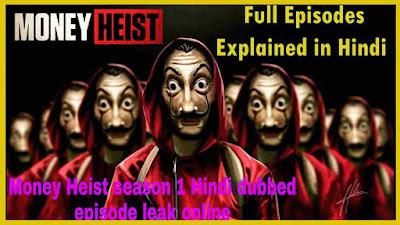 Money Heist Hindi Dubbed Download (Season 1-2-3-4-5) original 720p filmyzilla filmyhit