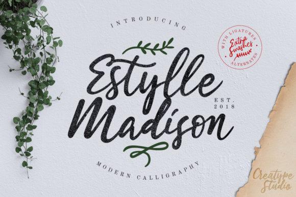 Estylle Madison Font