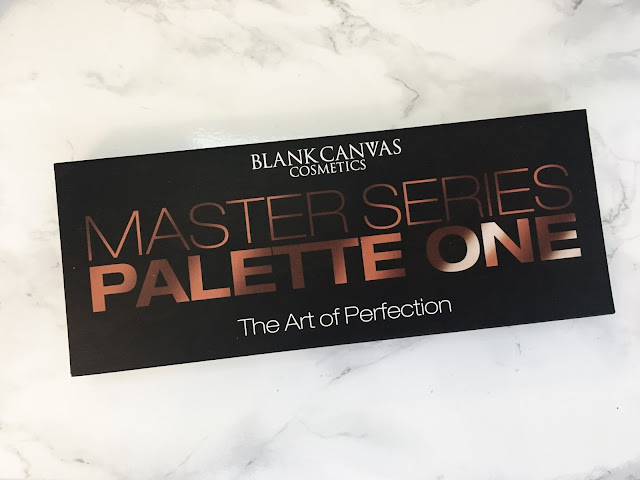 Master Series Palette on a marble background
