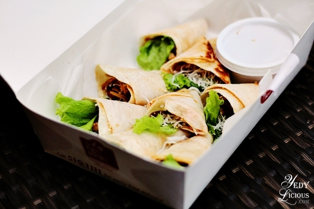 Chicken Wrap by The Party Kitchen Food Delivery Service Manila PH