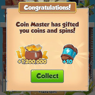 Coin master 10 spins and coins 01/03/2020
