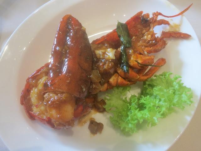甘香波士顿龙虾