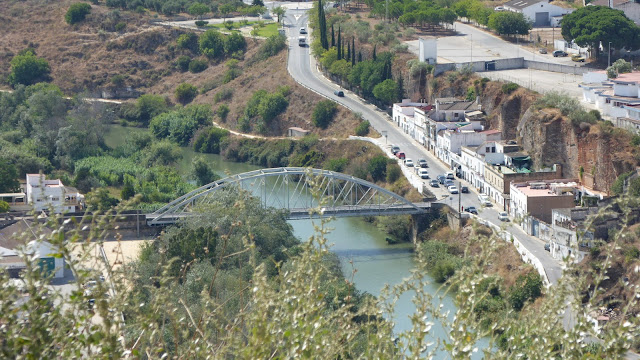 Puente de San Miguel y Rio Guadalete desde el Mirador de Abades - Arcos de la Frontera