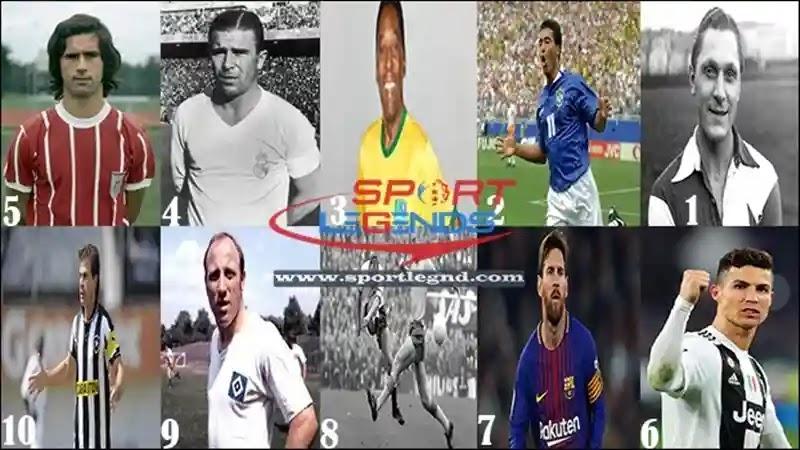 قائمة أفضل عشر هدافين في تاريخ كرة القدم