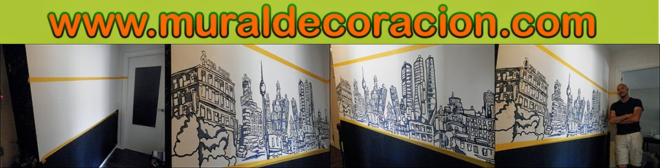 murales_decorativos_skyline_madrid