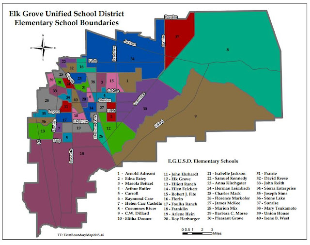 School Boundary Changes Coming For Several Elementary Students in the EGUSD