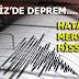 AKDENİZ'DE DEPREM. HATAY VE MERSİN'DE DE HİSSEDİLDİ