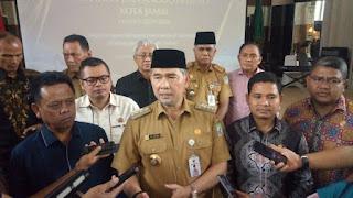 Walikota Dan Wawako Jambi  Silaturahmi Dengan Anggota DPRD Kota Jambi Terpilih