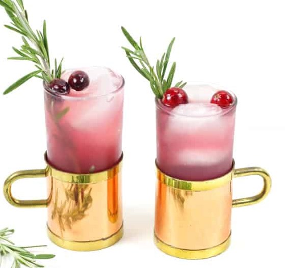YULE MULE #drinks #cranberries