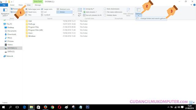 Cara Menampilkan File Yang Tersembunyi Di Windows 10