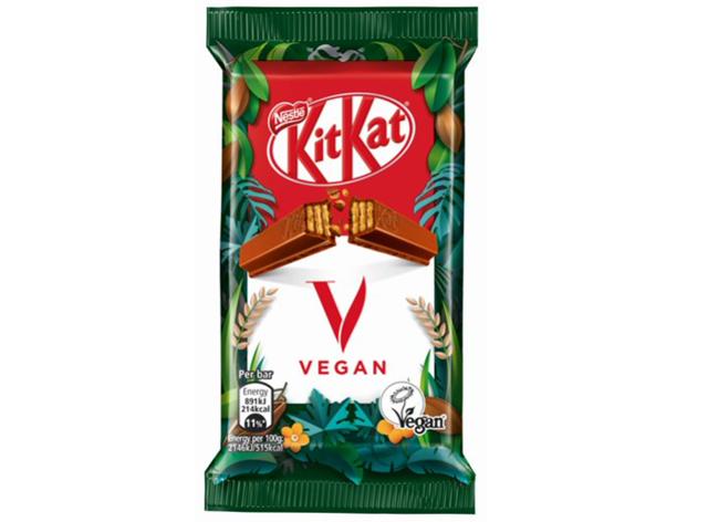COMER & BEBER: KITKAT® ouviu as redes sociais e inova: chegou a versão vegana do chocolate