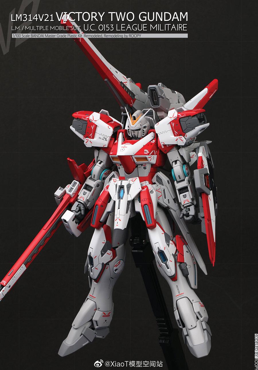 Custom Build: MG 1/100 V2 Assault Buster Gundam Ver. Ka - Gundam Kits Collection News and Reviews