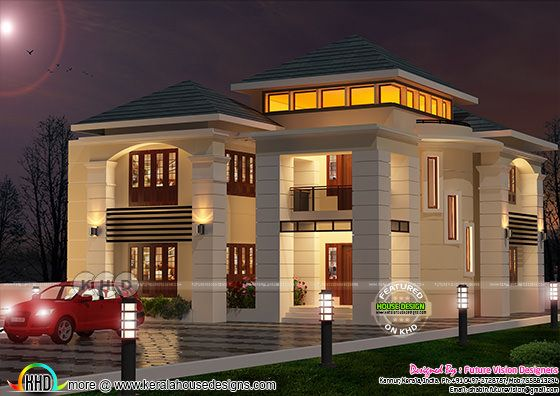 2755 sq-ft 4 bedroom attached villa