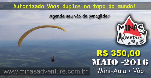 Vôos Duplos de Paraglider no Topo do Mundo!