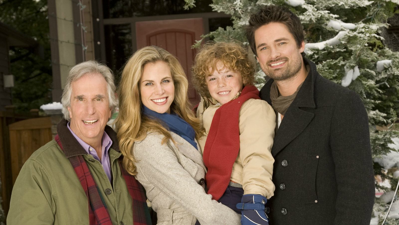 The Most Wonderful Time of the Year Henrey Winkler Uncle Ralph Brooke Burne Jennifer Cullen Connor Christopher Levins Brian Cullen Warren Christie Morgan Derby Hallmark