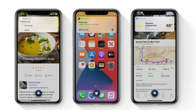 Compact Siri Design