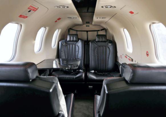 Daher TBM 900 interior