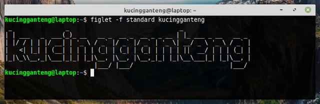 Cara Mempercantik Terminal Linux Dengan Figlet dan Cowsay