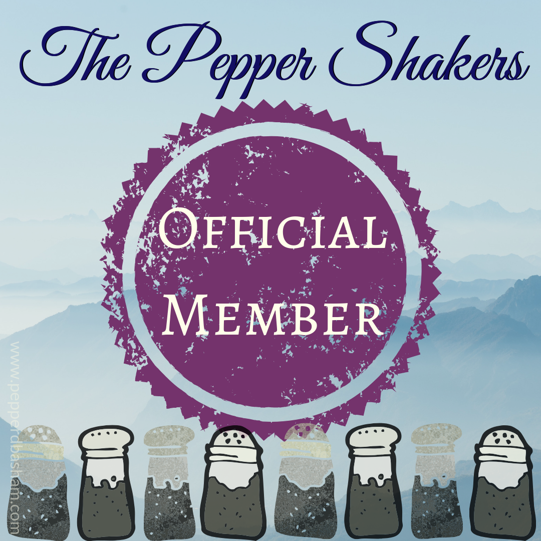 I'm a proud member of Pepper Basham's street team!